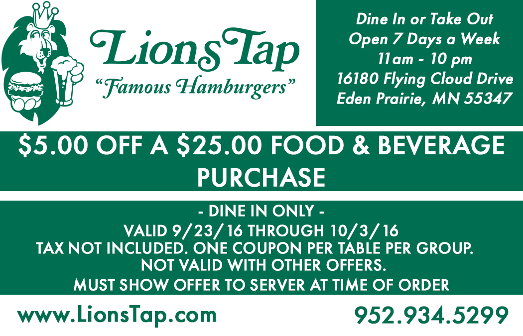 Lions tap coupons
