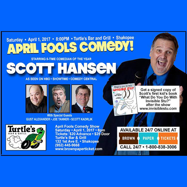 April Fools Day Comedy Show!