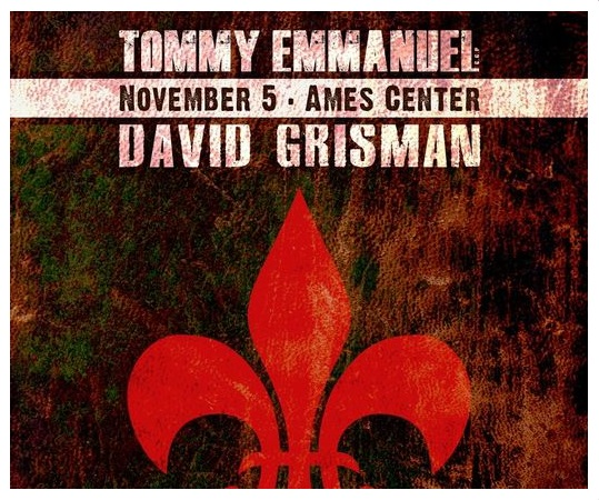 Tommy Emmanuel and David Grisman C.G.P. & Dawg Tou