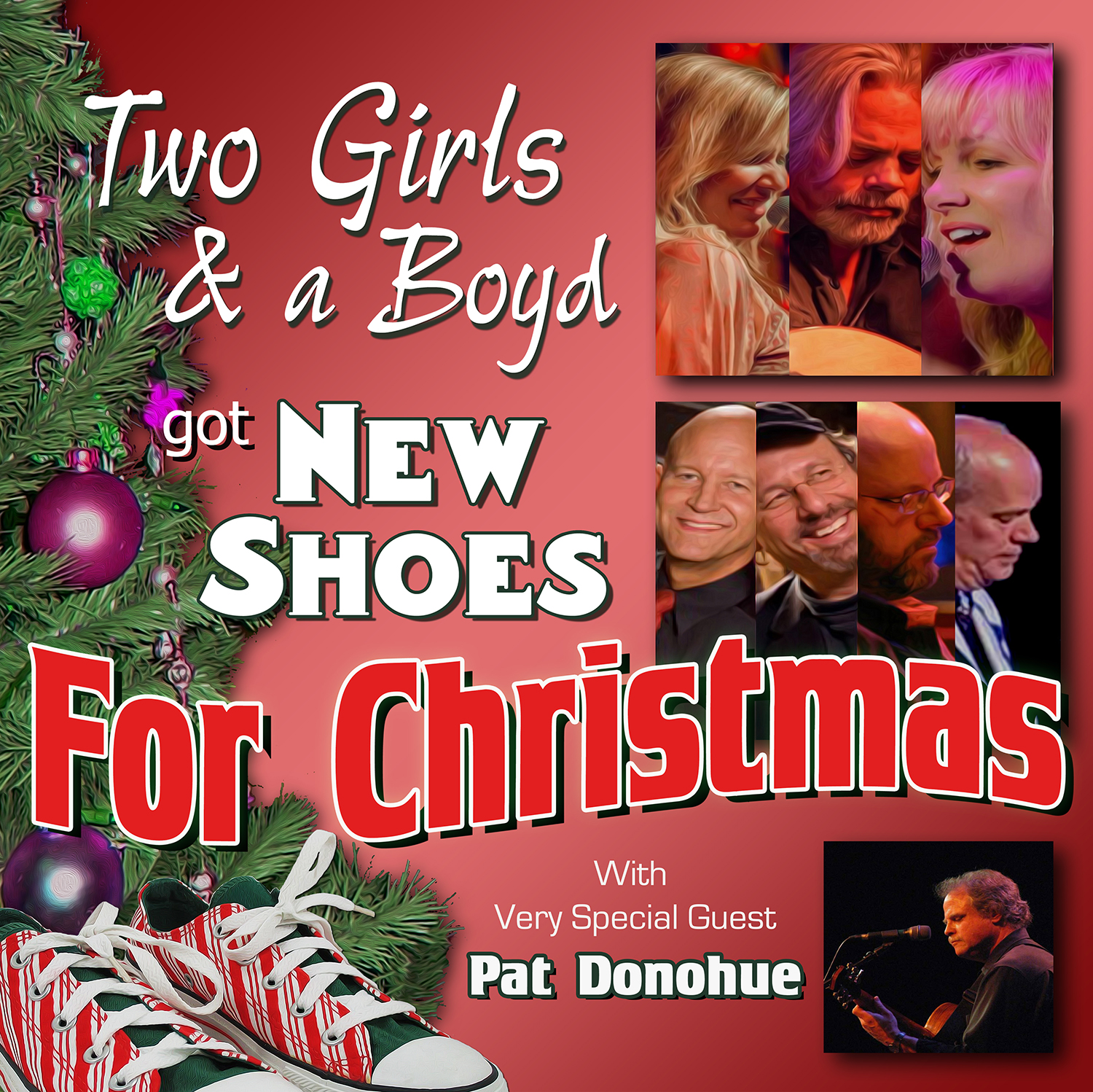 2 Girls & A Boyd Got New Shoes For Christmas