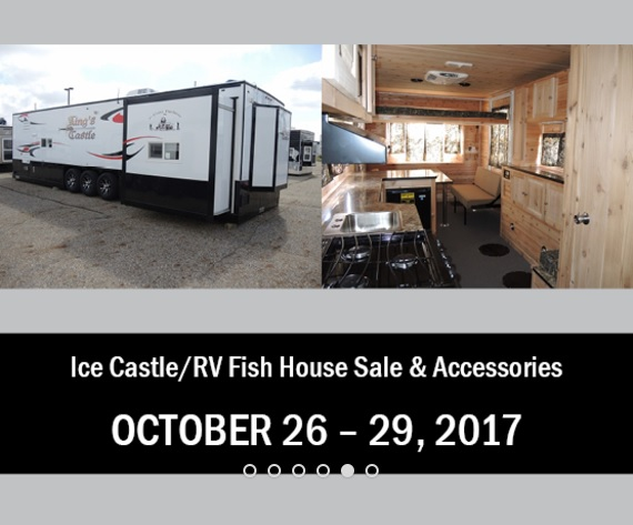 Ice Castle Fish House Sale