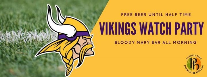 Vikings Watch Party