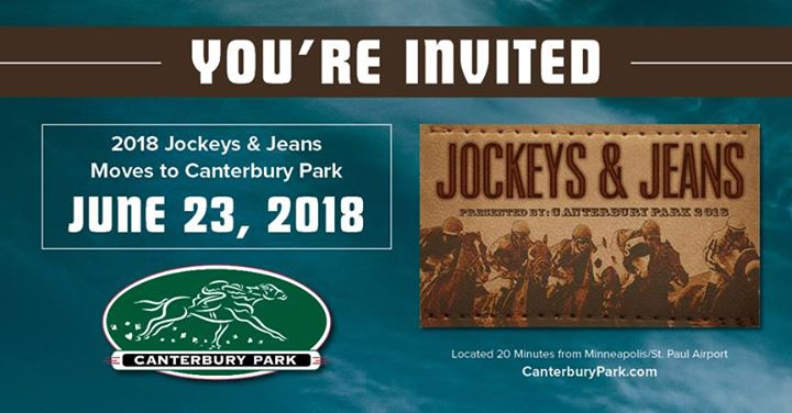 Jockeys and Jeans at Canterbury Park