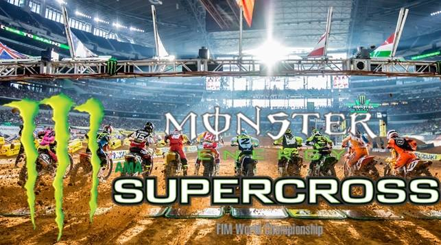Monster Energy Supercross Rider Appearance