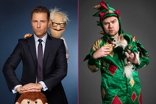 Paul Zerdin & Piff The Magic Dragon