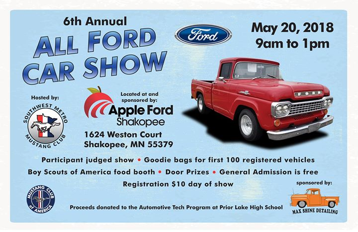 All Ford Car Show Shakopee