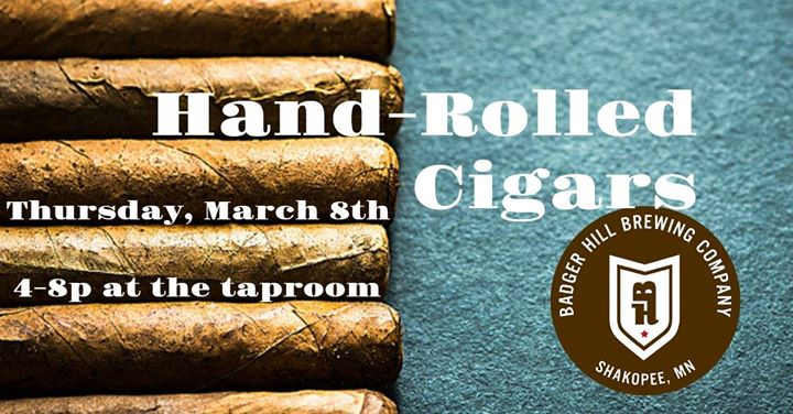 Hand-Rolled Cigars at Badger Hill!