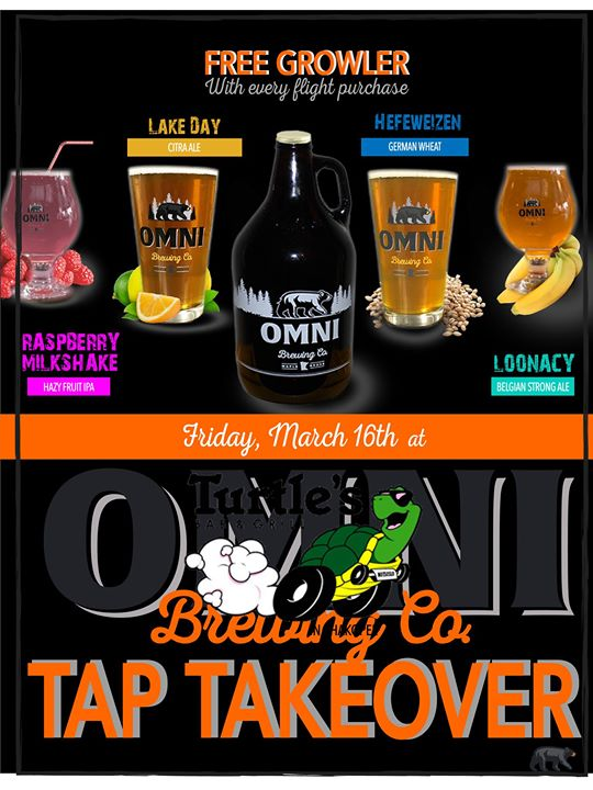 Omni Brewing Tap Takeover!