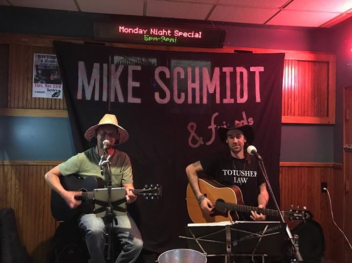 Mike Schmidt & friends at Turtles w/Jesse