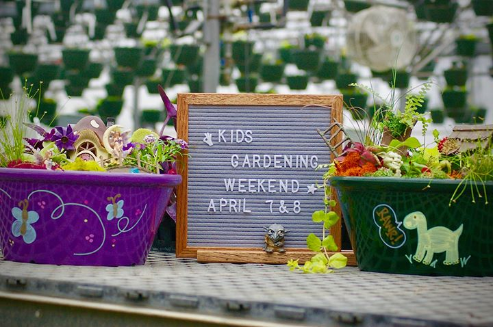 Kids Gardening Weekend