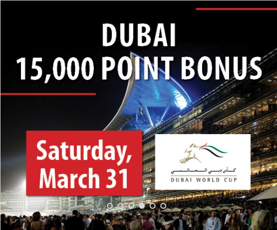 Dubai 15,000 Point Bonus