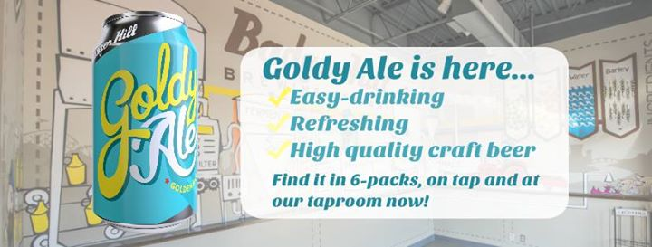 Badger Hill Goldy Ale Release Week!