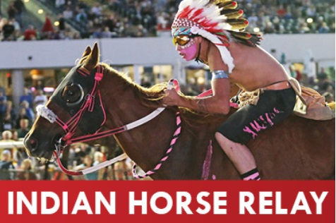 Indian Horse Relay Racing and Indian Market