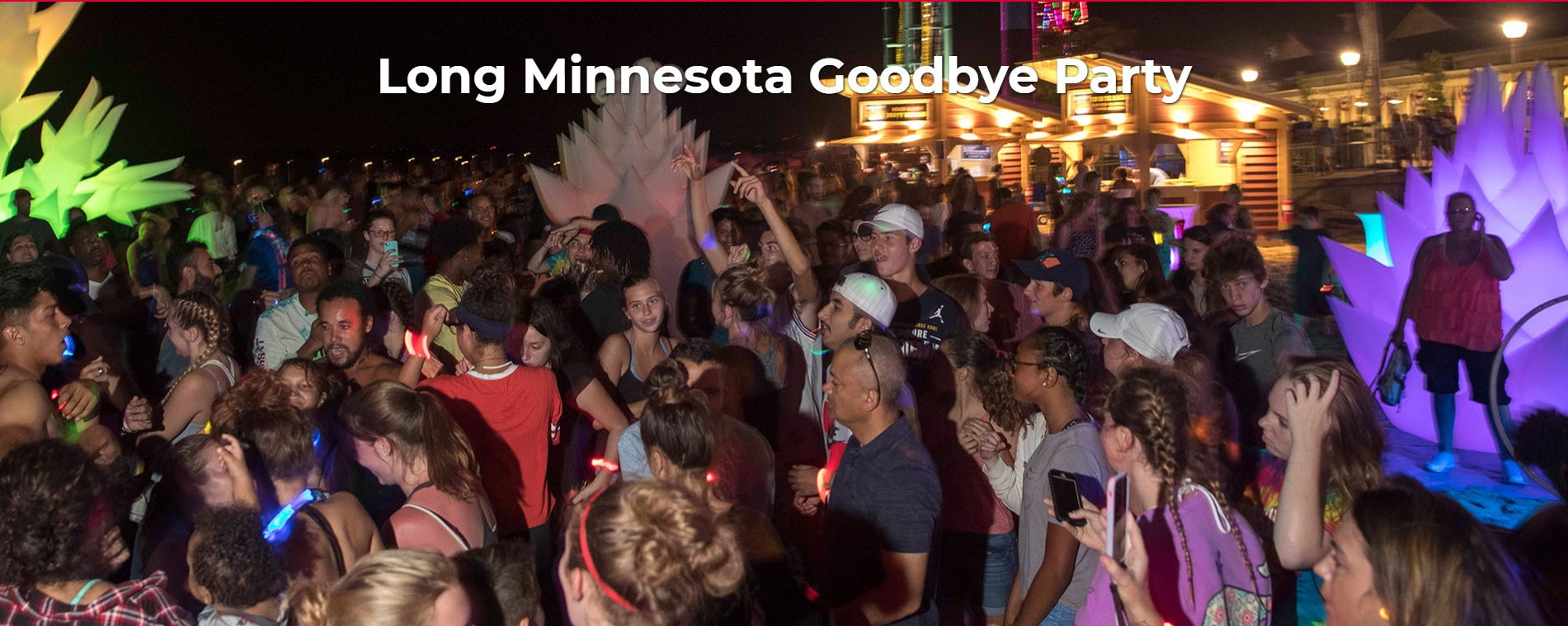 Long Minnesota Goodbye Party