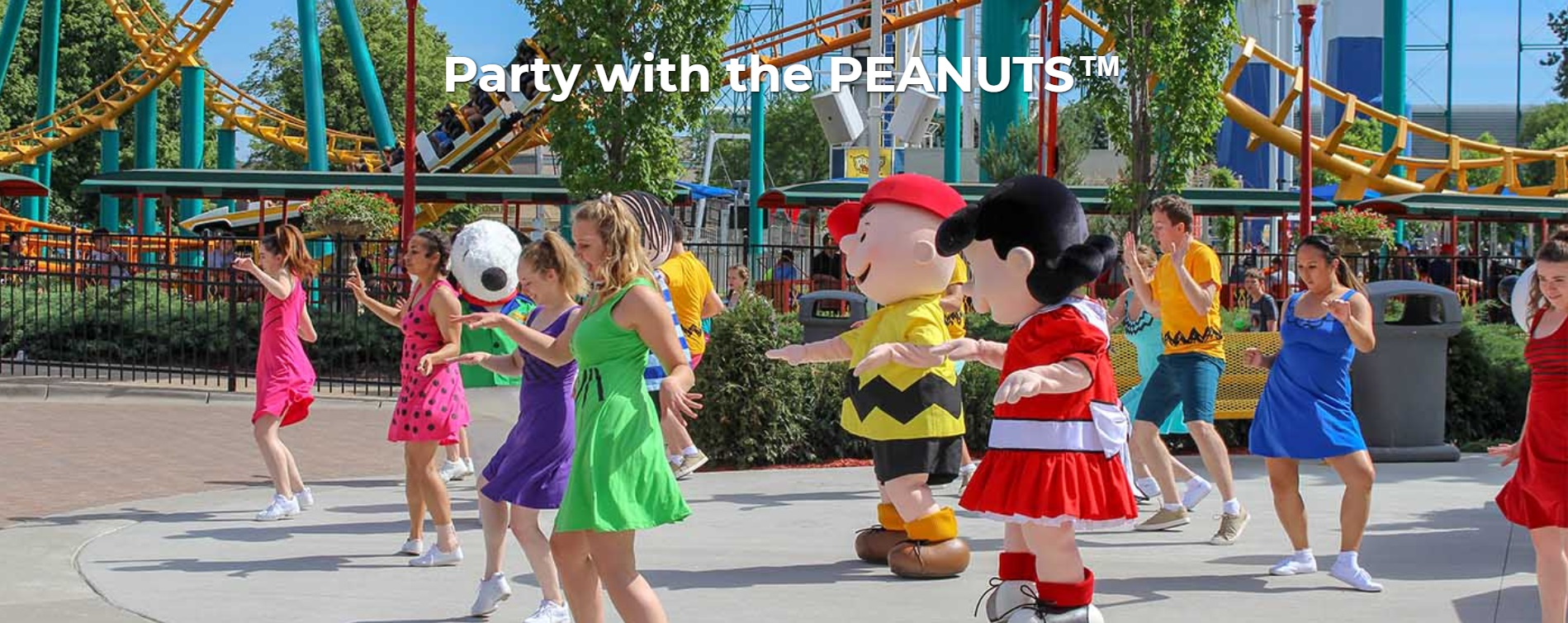 Party with the PEANUTS