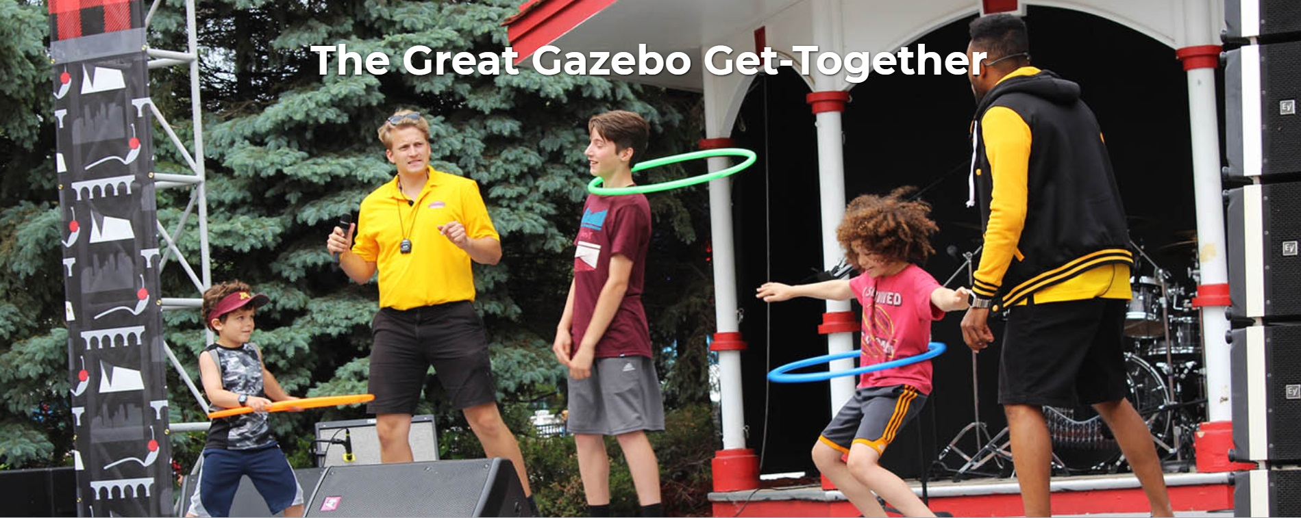 The Great Gazebo Get-Together