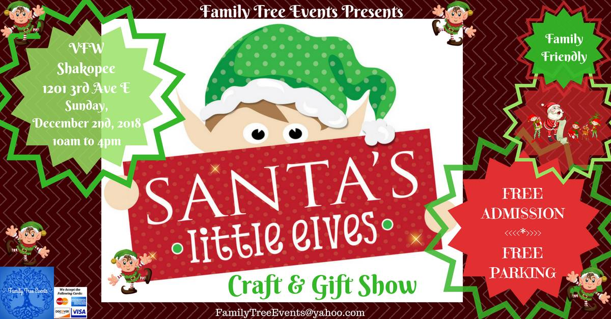 Santa's Little Elves Craft & Gift Show by Family Tree Events