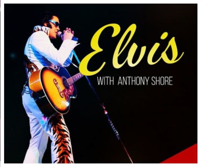 Anthony Shore's Elvis In Concert feat. Johnny Cash