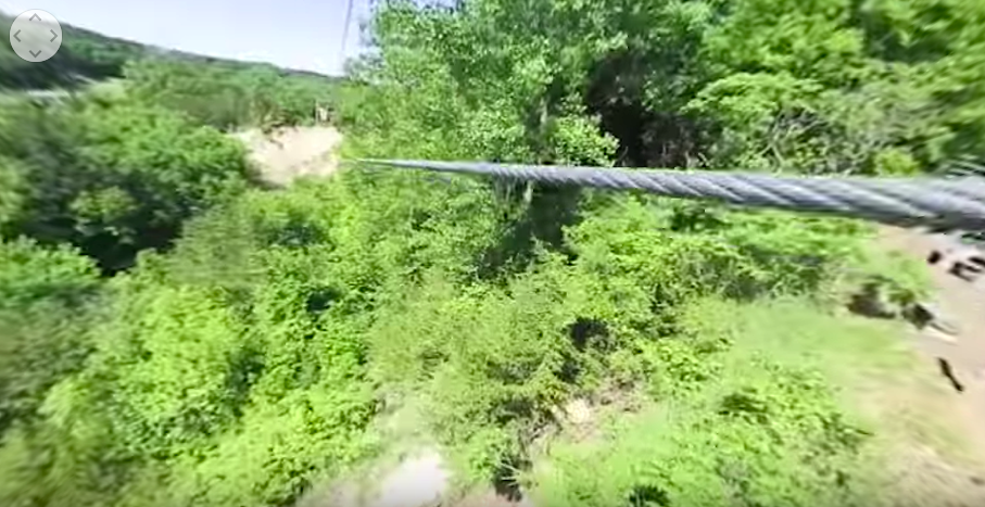 Zip Line at Sand Creek Adventures