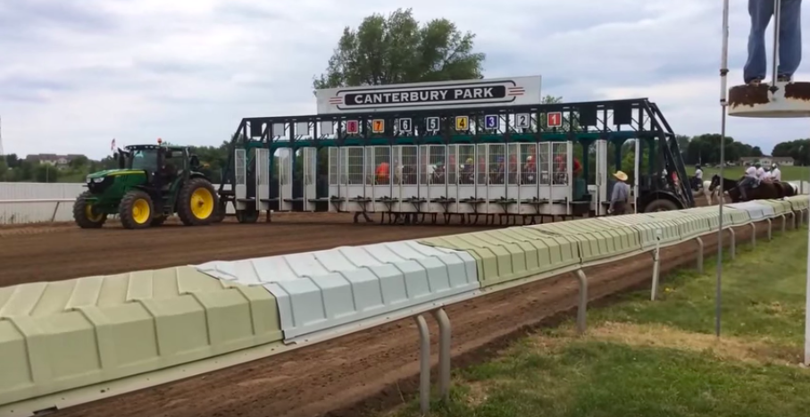 Starting Gate at Canterbury Park