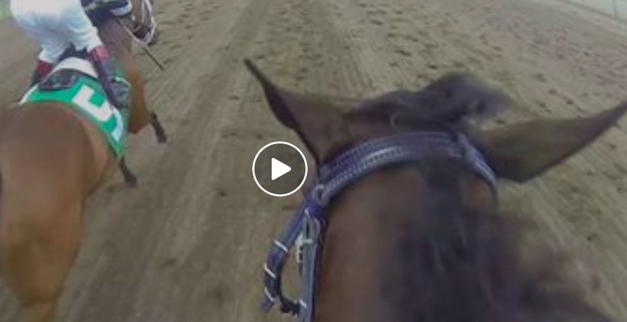 Jockey Cam at Canterbury Park in Shakopee, Minnesota