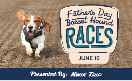 Father's Day Basset Hound Racing