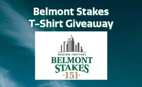 Belmont Stakes T-Shirt Giveaway