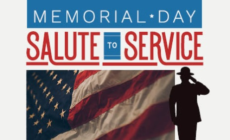 Memorial Day Salute to Service