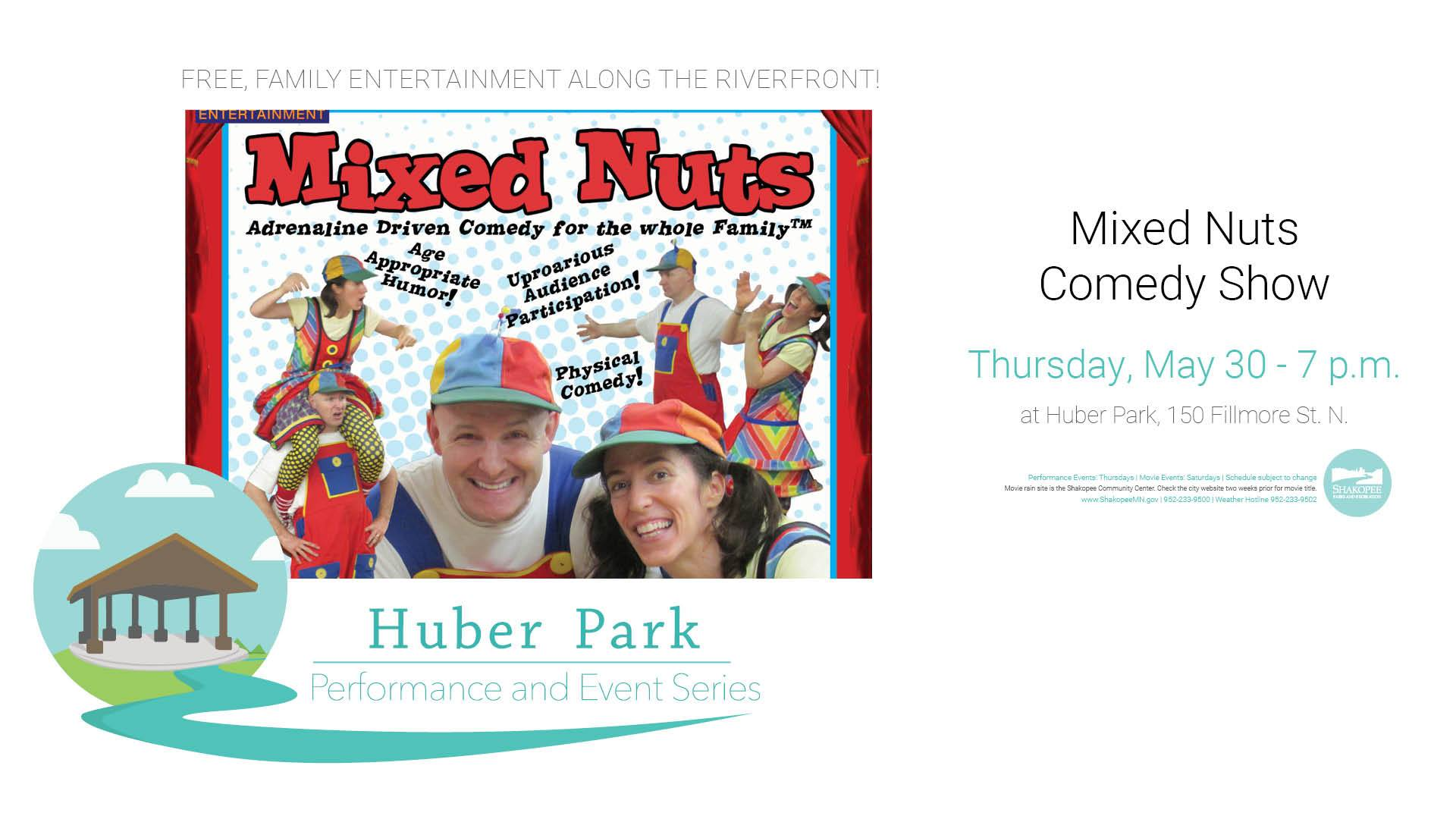 Mixed Nuts Comedy Show
