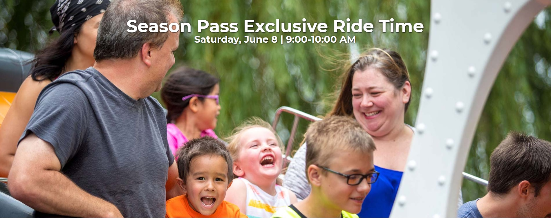 Season Pass Exclusive Ride Time