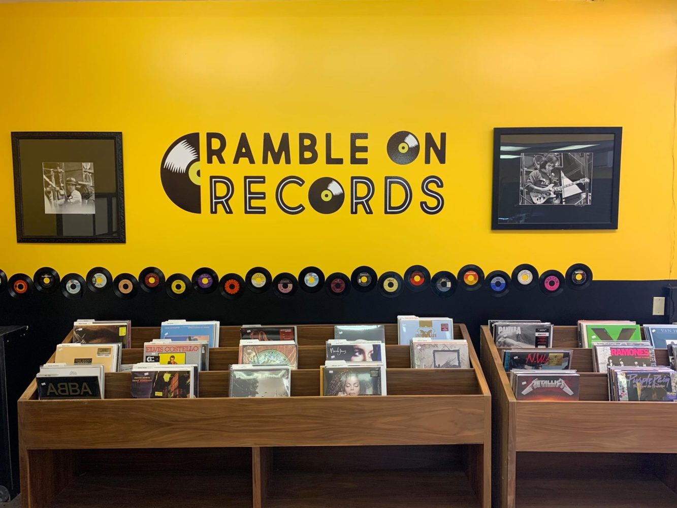Ramble On Records in Downtown Shakopee