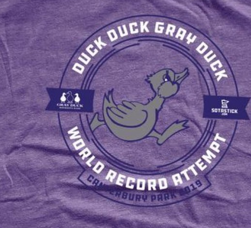 Record Game of Duck, Duck, Gray Duck!