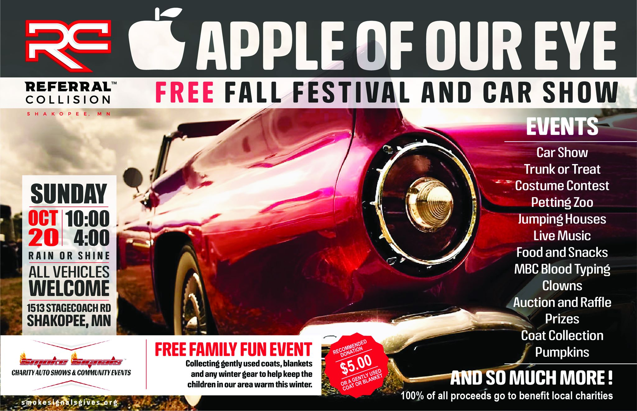 Apple of Our Eye Fall Festival and Car Show
