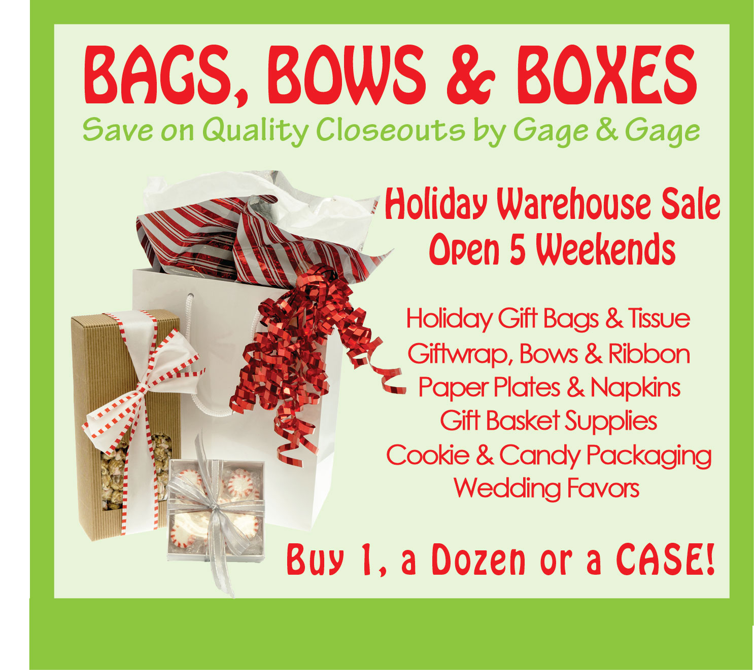 Gift Packaging Warehouse Sale