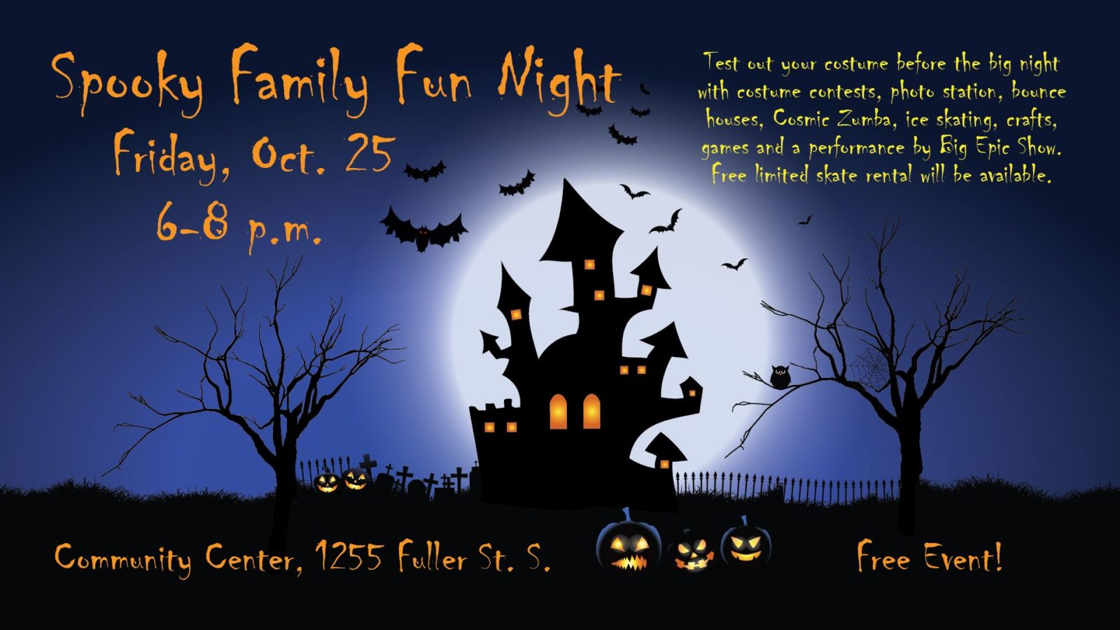 Spooky Family Fun Night