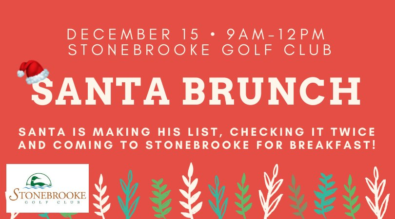 Santa Brunch at Stonebrooke Golf Club