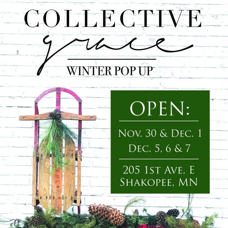 Collective Grace Winter Pop Up