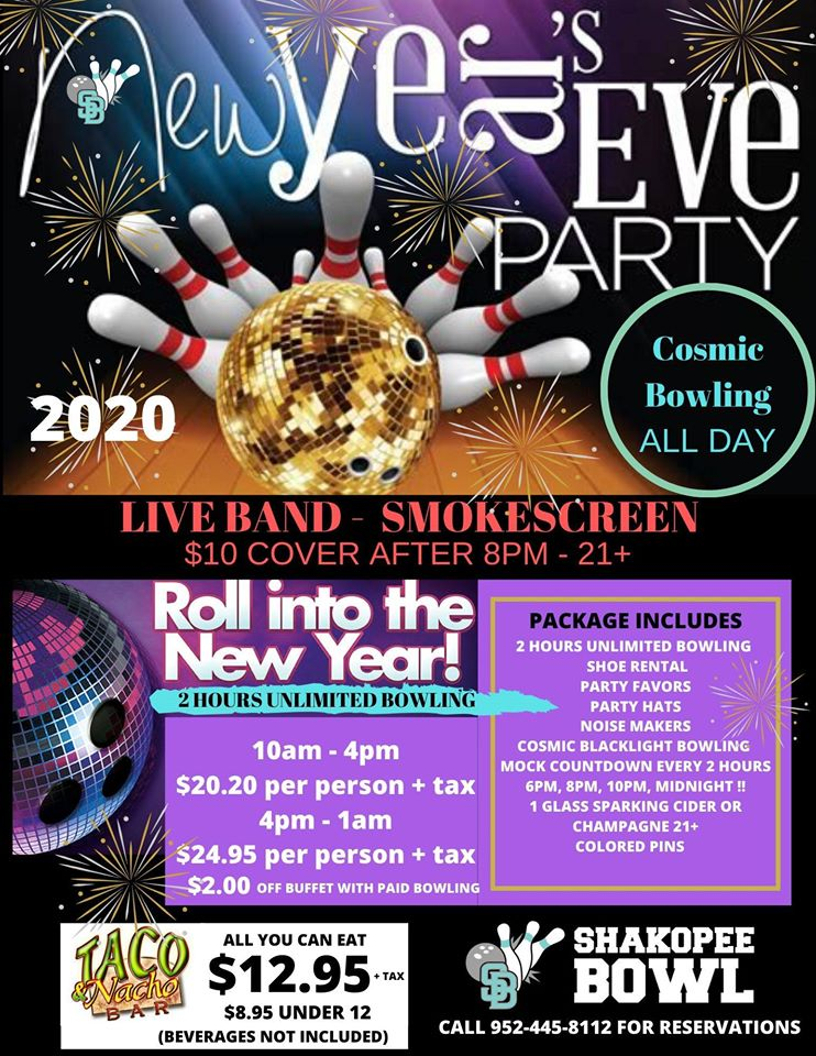 New Years Eve Bowling Party