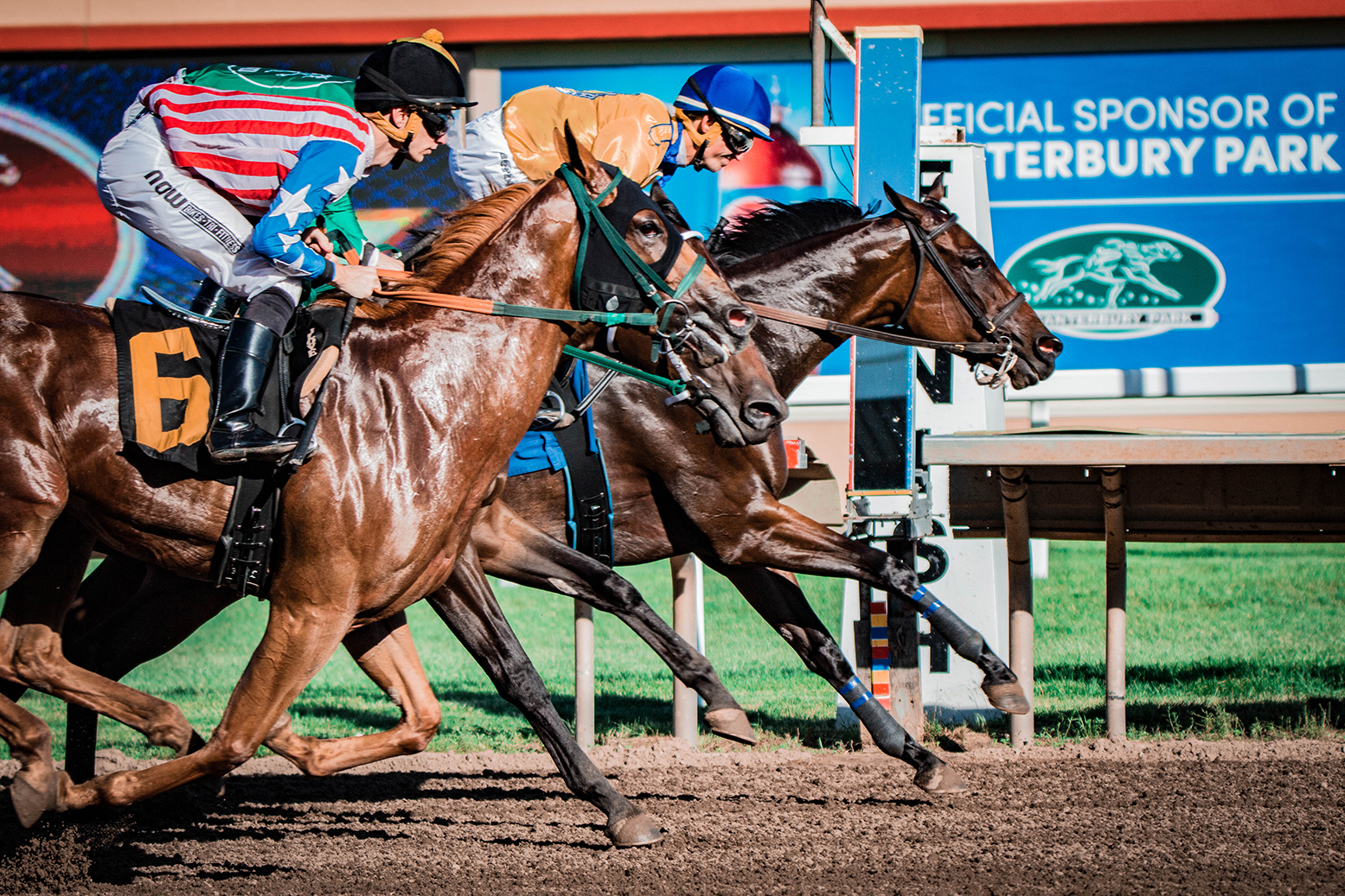 Canterbury Park Live Racing Season