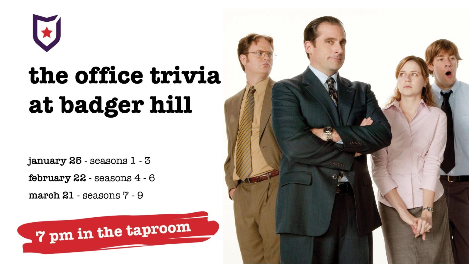 The Office Trivia at Badger Hill Brewing