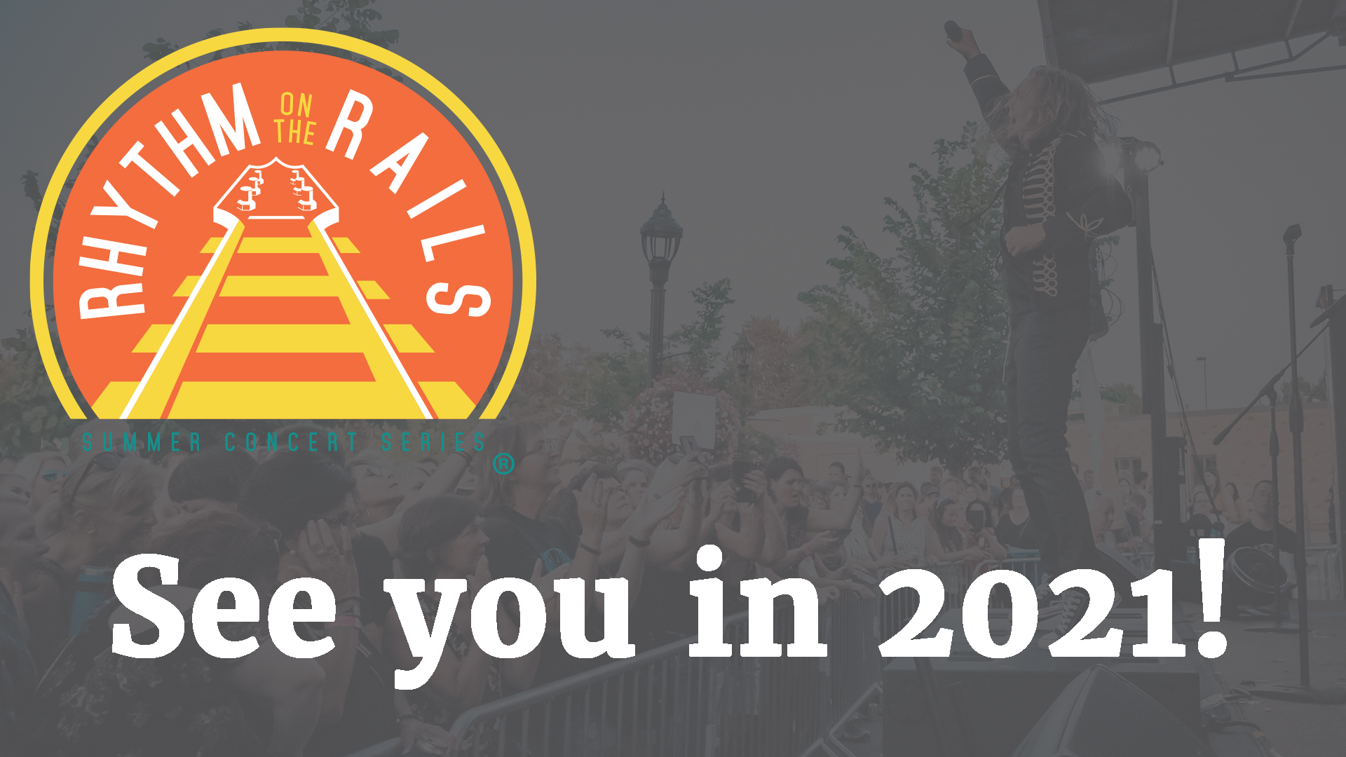 Rhythm on the Rails - See you in 2021!