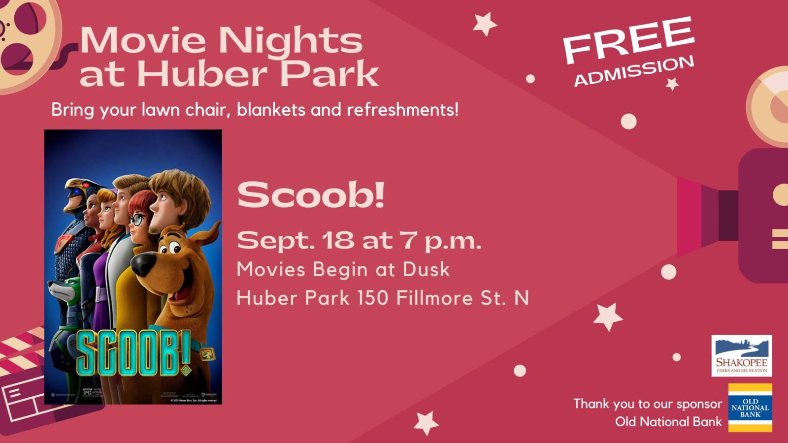 Movies in the Park: Scoob!